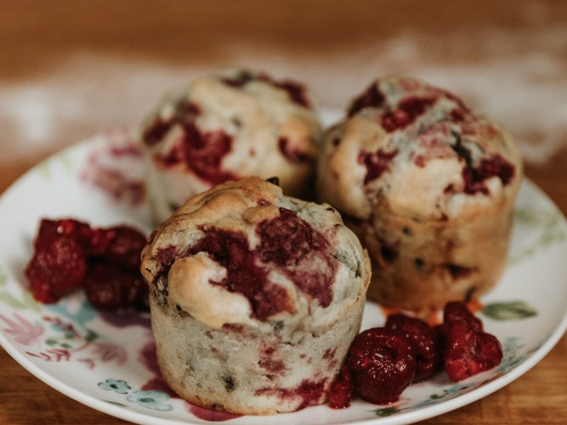 Autumn flavour <br>Our late season raspberry muffin recipe